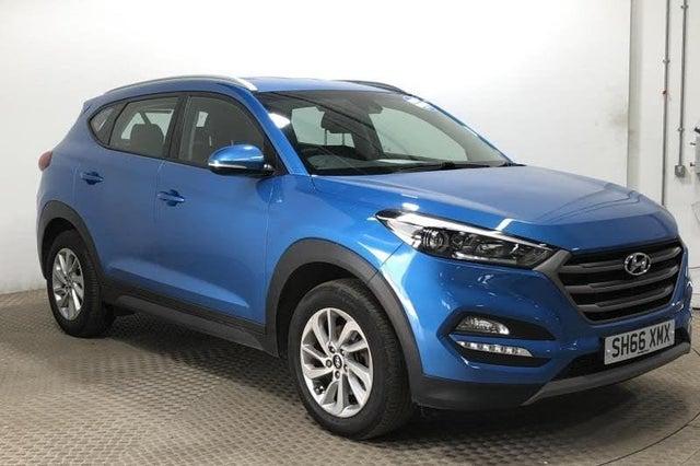 2017 Hyundai Tucson 1.7CRDi Blue Drive SE Nav (116ps) (66 reg)