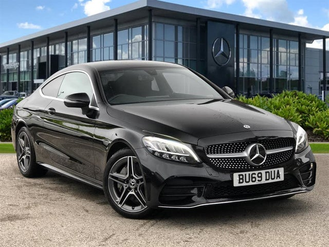 2019 Mercedes-Benz C-Class 2.0d C300d AMG Line (244ps) Coupe 2d (69 reg)