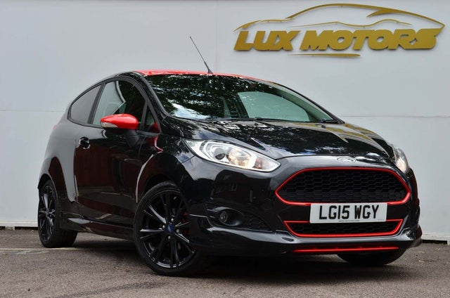 2015 Ford Fiesta 1.0 Zetec S Black Edition (E6) (15 reg)