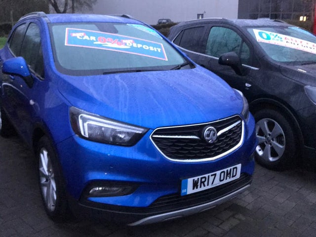 2017 Vauxhall Mokka X 1.4i 16v Turbo Active (140ps) (s/s) (17 reg)