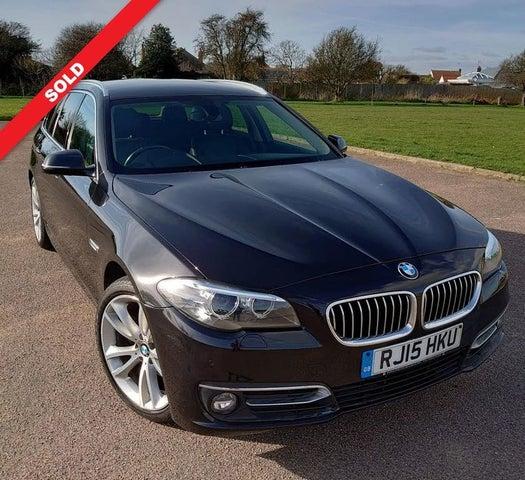 2015 BMW 5 Series 2.0TD 520d Luxury (190bhp) Touring 5d Auto (15 reg)
