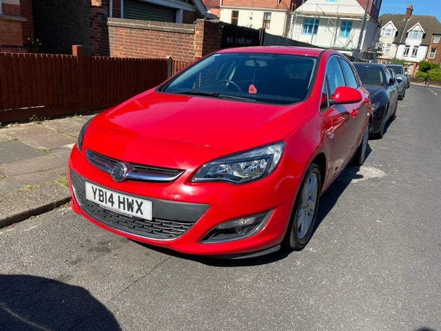 2014 Vauxhall Astra 1.4 SRi Turbo (140ps) 1364cc (14 reg)