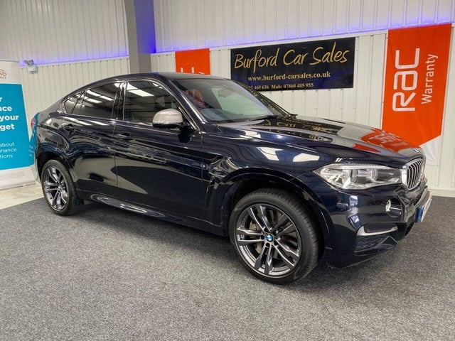 2017 BMW X6 3.0TD M50d 4X4 (17 reg)