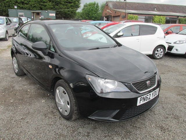 2012 Seat Ibiza 1.2TD (75ps) CR SportCoupe (a/c) Hatchback 3d (62 reg)