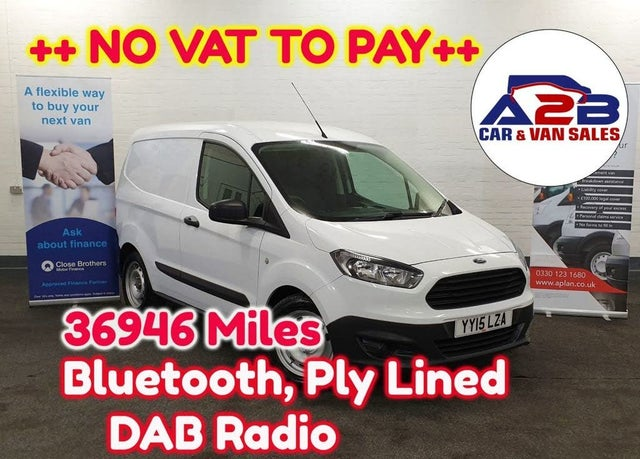 2015 Ford Transit Courier 1.5TDCi (75PS) Panel Van (15 reg)