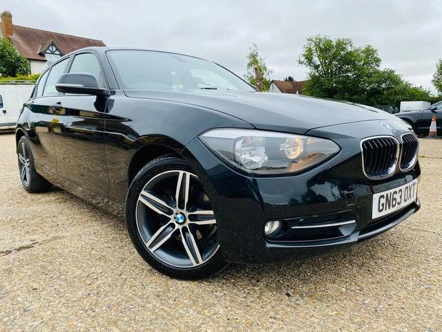 2013 BMW 1 Series 2.0TD 118d Sport (143bhp) (s/s) Sports Hatch 5d Auto (63 reg)