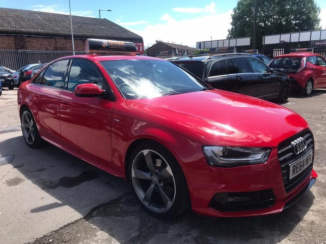 2014 Audi A4 1.8 Black Edition (170ps) Multitronic (64 reg)