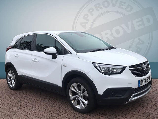 2019 Vauxhall Crossland X 1.2 Tech Line NAV (110ps) Turbo (s/s) ecoTEC (68 reg)