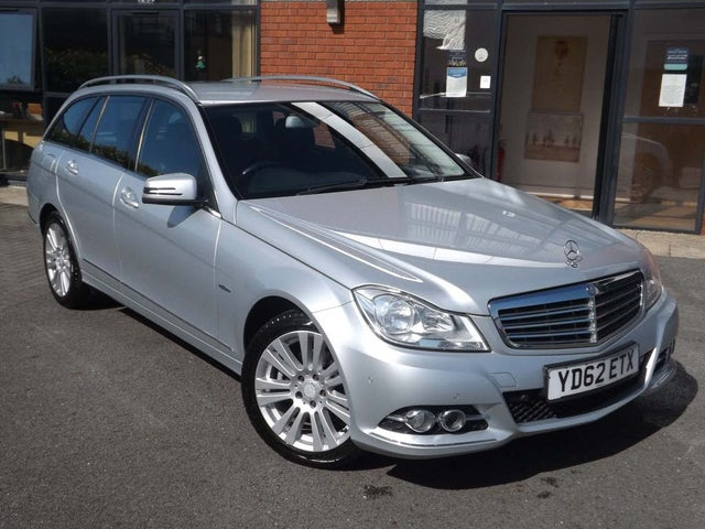 2012 Mercedes-Benz C-Class 2.1TD C220 CDI Elegance 2.1CDI Blue F Estate 5d 2143cc 7G-Tronic (62 reg)