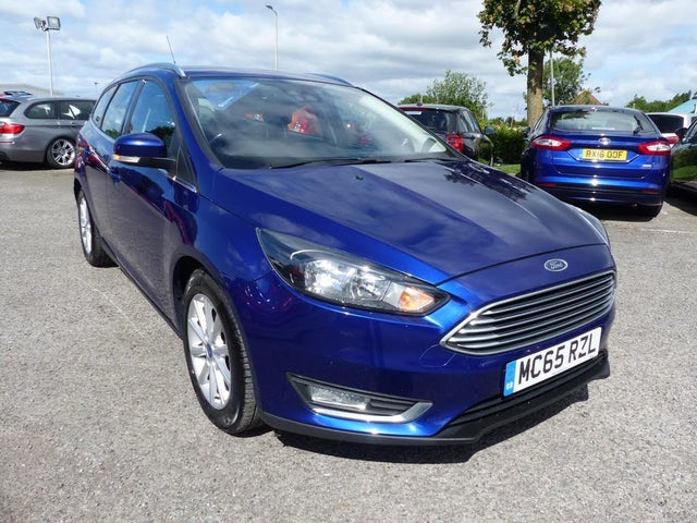 2016 Ford Focus 2.0TDCi Titanium Estate (65 reg)