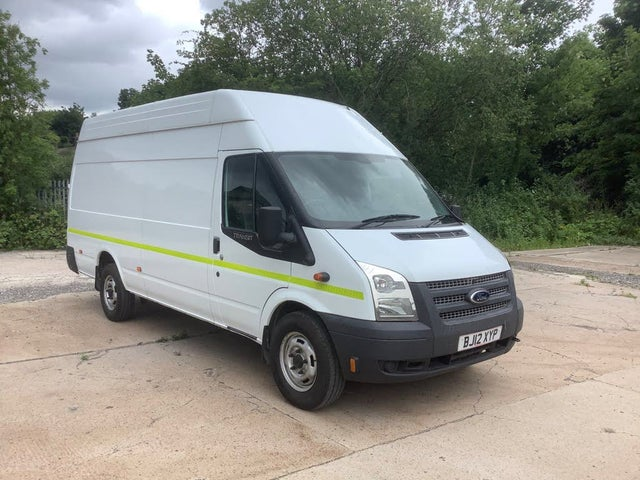 2012 Ford Transit 2.2TD 350 MWB (125PS)(EU5)(RWD) 350M High Roof Van (12 reg)