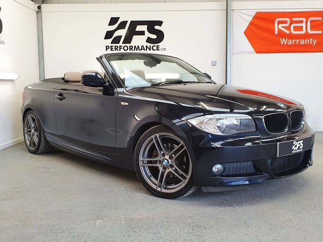 2013 BMW 1 Series 2.0TD 120d Sport Plus Edition Convertible auto (63 reg)
