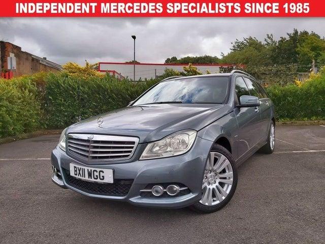 2011 Mercedes-Benz C-Class 2.1TD C220 CDI Elegance 2.1CDI Blue F Estate 5d 2143cc 7G-Tronic (11 reg)