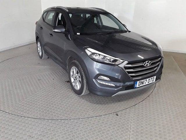 2017 Hyundai Tucson 2.0CRDi SE Nav (185ps) Auto (17 reg)