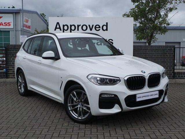 2019 BMW X3 2.0TD xDrive20d M Sport TU (19 reg)