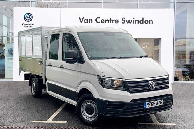 2020 Volkswagen Crafter 2.0TDI CR35 LWB (140PS)(EU6dT-E) FWD Startline Double Cab Chassis (69 reg)