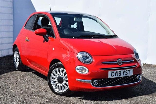 2019 Fiat 500 1.2 LOUNGE (s/s) (19 reg)