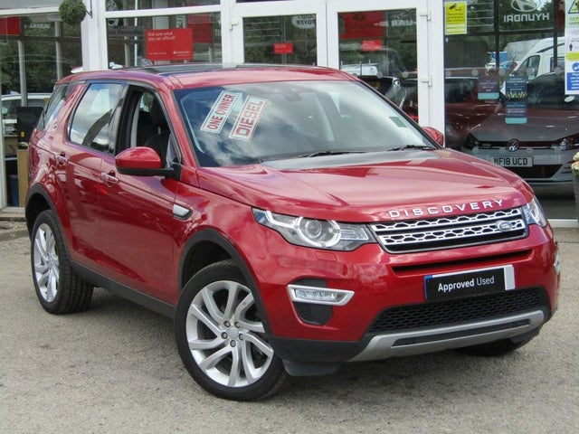 2017 Land Rover Discovery Sport 2.0Td4 HSE Luxury 2.0TD4 Station Wagon (17 reg)