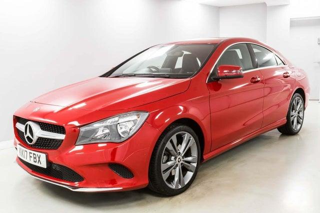 2017 Mercedes-Benz CLA 1.6 CLA 180 Sport Coupe 4d (17 reg)