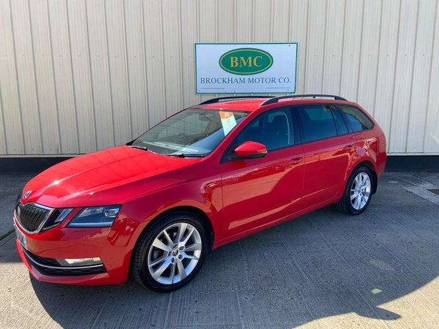 2017 Skoda Octavia 1.6TDI SE L (115ps) Estate 1596cc (17 reg)