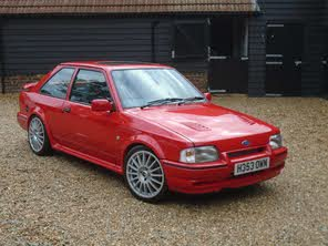 Used 1990 Ford Escort Xr3i Tennis Ltd Edn For Sale Cargurus