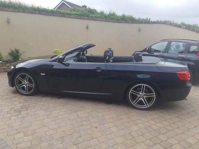 2011 BMW 3 Series 2.0TD 320d M Sport Convertible 2d auto (61 reg)
