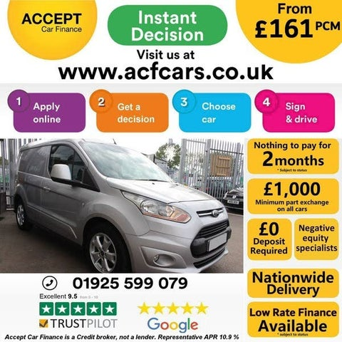 2014 Ford Transit Connect 1.6TDCi L1 Limited (64 reg)