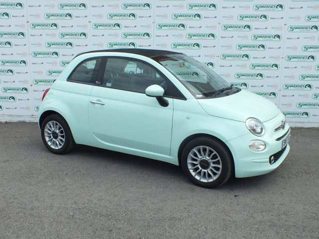 2017 Fiat 500C 0.9 POP STAR (17 reg)