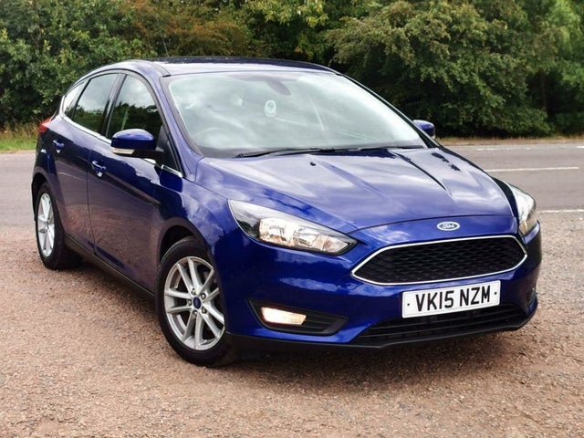 2015 Ford Focus 1.6TDCi Zetec Hatchback (15 reg)
