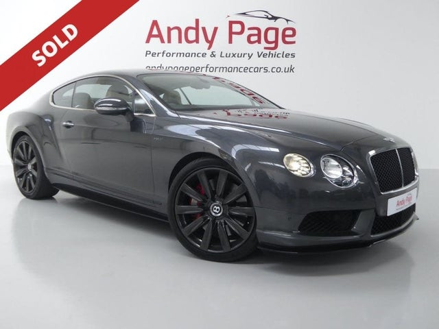 2015 Bentley Continental 4.0 GT V8 S 4X4 Coupe (15 reg)