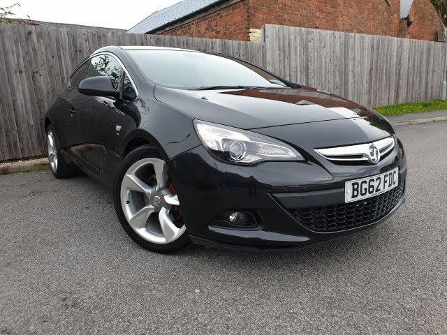 2012 Vauxhall Astra GTC 1.7CDTi SRi (130ps) (62 reg)