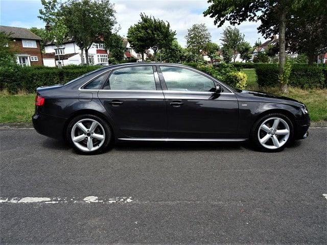 2010 Audi A4 2.0TD S Line CR (170PS) (60 reg)