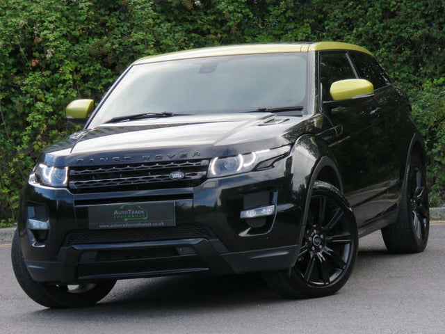 2013 Land Rover Range Rover Evoque 2.2Sd4 Coupe 3d (13 reg)