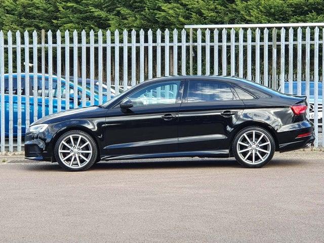 2017 Audi A3 2.0TDI Black Edition (150ps) (s/s) Saloon 4d S Tronic (17 reg)