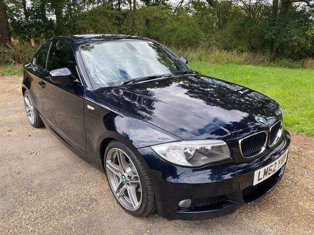 2012 BMW 1 Series 2.0TD 120d Sport Plus Edition Coupe auto (62 reg)