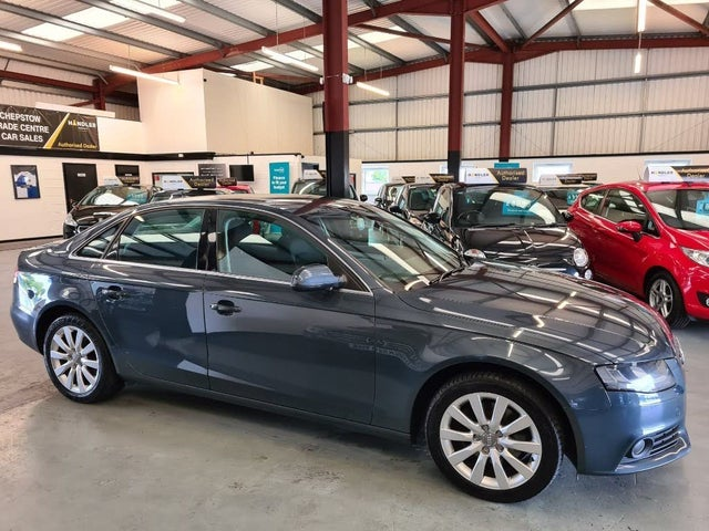 2010 Audi A4 2.0TD SE (143ps) Multitronic (10 reg)