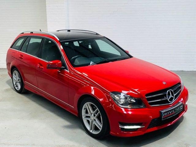 2014 Mercedes-Benz C-Class 2.1CDI C220 CDI AMG Sport Edition (170ps) CDI Estate 5d 7G-Tronic Plus (63 reg)