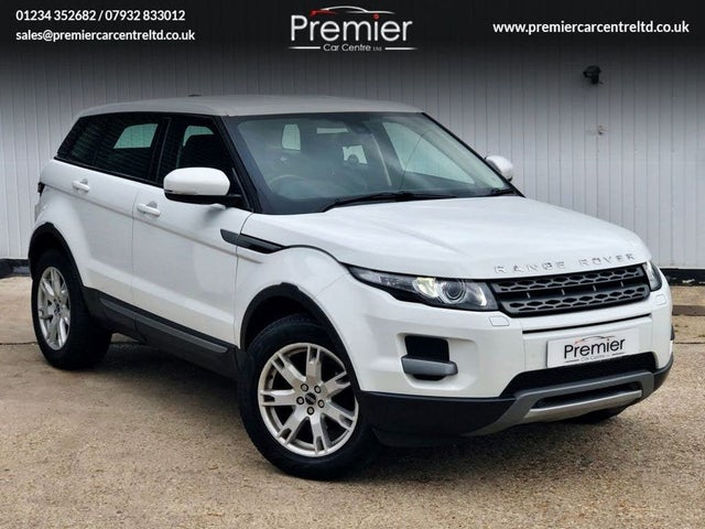 2012 Land Rover Range Rover Evoque 2.2TD Pure TECH 2.2eD4 Hatchback 5d (12 reg)