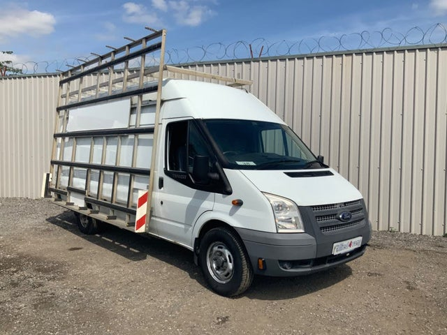 2013 Ford Transit 2.2TD 350 MWB (125PS)(EU5)(RWD) 350M High Roof Van (13 reg)