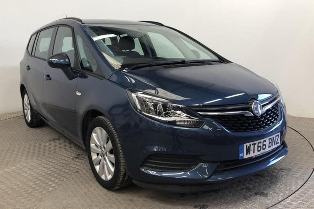 2017 Vauxhall Zafira Tourer 1.4i 16v Turbo Design (66 reg)