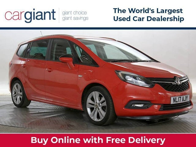 2017 Vauxhall Zafira Tourer 1.4i 16v Turbo SRi (Leather Pk) Auto (17 reg)