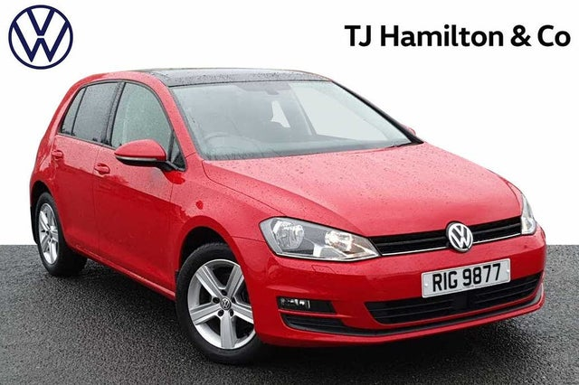 2016 Volkswagen Golf 1.6TDI Match Edition Hatchback 5d (G9 reg)