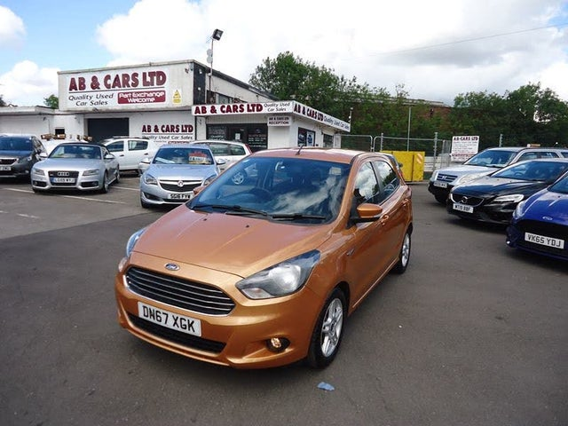 2017 Ford Ka+ 1.2 Ti-VCT Zetec (85ps) (67 reg)