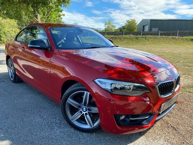 2017 BMW 2 Series 1.5 218i Sport (136bhp) Coupe 2d Auto (17 reg)