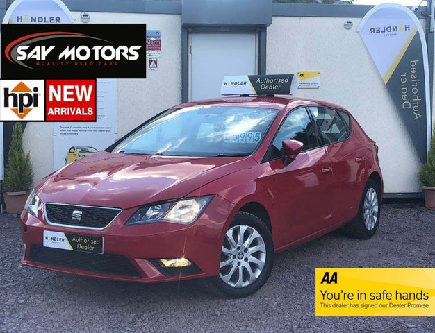 2014 Seat Leon 1.6TDI SE (105ps) Hatchback 5d (14 reg)