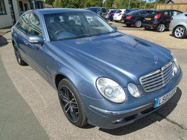2003 Mercedes-Benz E-Class 3.2 E320 Elegance Saloon 4d (03 reg)