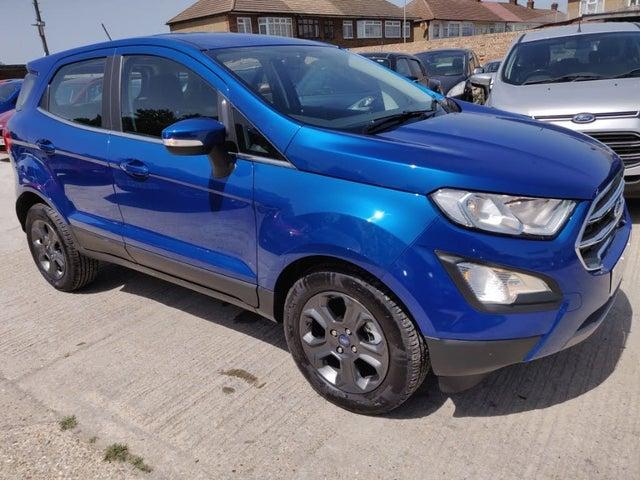2019 Ford EcoSport 1.0T Zetec (125ps) (s/s) Auto (19 reg)