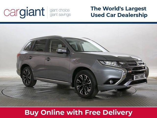 2017 Mitsubishi Outlander 2.0 Kotu PHEV (Leather)(5st) (17 reg)
