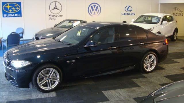 2016 BMW 5 Series 3.0TD 535d M Sport Saloon 4d (16 reg)
