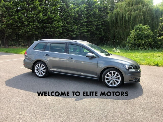 2018 Volkswagen Golf 2.0TDI GT Estate 5d (18 reg)